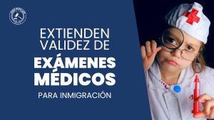 examen medico para Inmigración