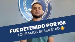 Estuvo detenido por Inmigración, logramos liberarlo… 🥳