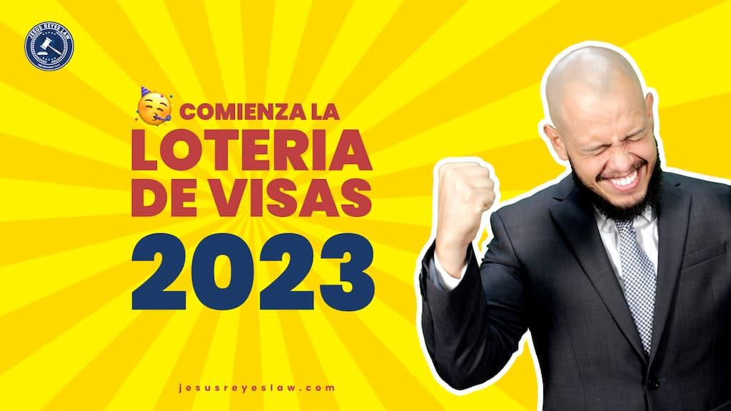 loteria de visas 2023